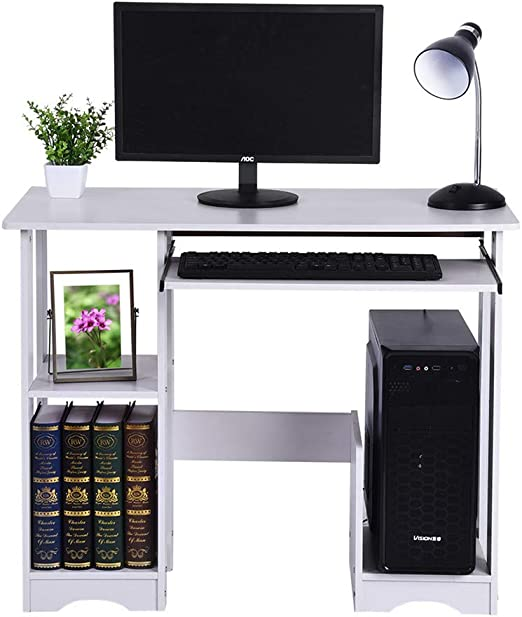 Modern Creative Desktop Home Computer Minimalist Writing Desk Storage Table Home Garden Furniture