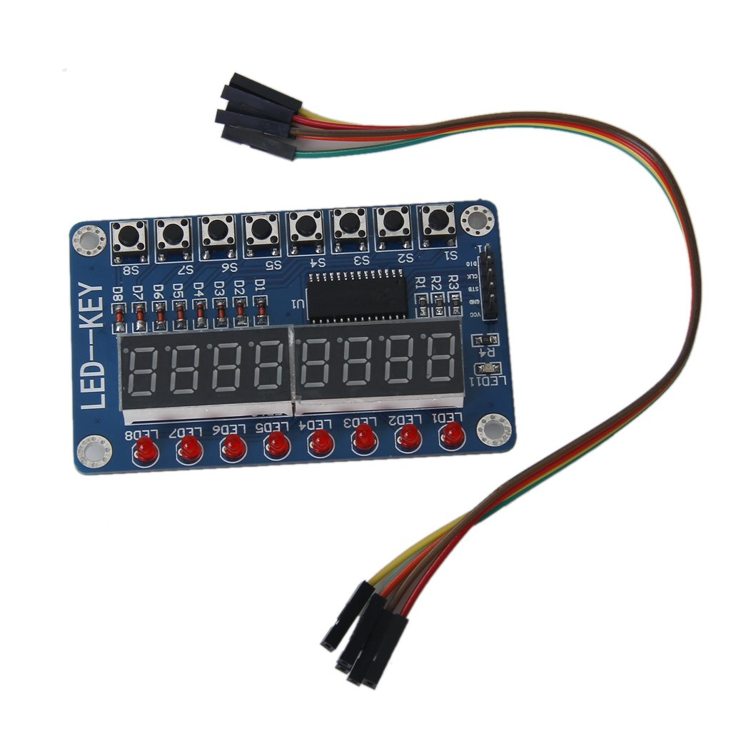 8-bit Led Módulo TM1638 Con 8 Bits Tubo Digital STK0114008319