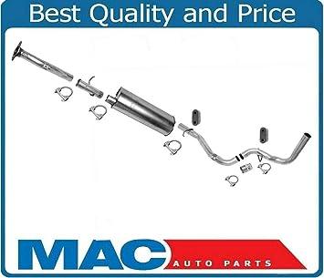 amazon com mac auto parts 10775 silverado 4 3l 5 0l 5 7l 1 inch w b muffler exhaust system under lb automotive amazon com