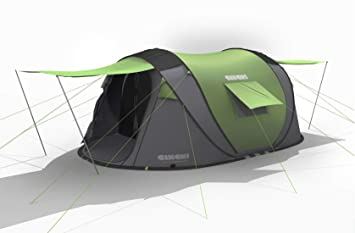 Image Unavailable. Image not available for. Colour Cinch 4 man lightweight pop up tent ...  sc 1 st  Amazon.ca & Cinch 4 man lightweight pop up tent with 2 entrances 2 storage bays ...