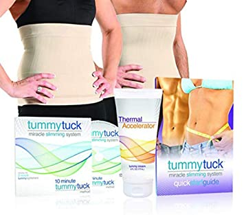 7e468858bc Amazon.com  Tummy Tuck Miracle Slimming System (2)  Health ...