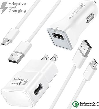Boxgear - Kit de Cable de Carga rápida Micro USB 2.0 para ...