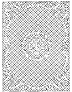 Amazon.com: Wholecloth Quilt Tops Pre Printed Welsh Beauty Natural ... : preprinted quilt tops - Adamdwight.com