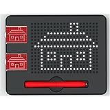 Xcivi Free Play Mini Magnatab Magnetic Drawing Board Mini Magnetic PAD with Idea Cards, Black