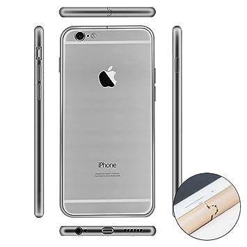 Donkeyphone - Bumper DE Aluminio Gris Espacial METÁLICO para iPhone 6 Y 6S (4,7