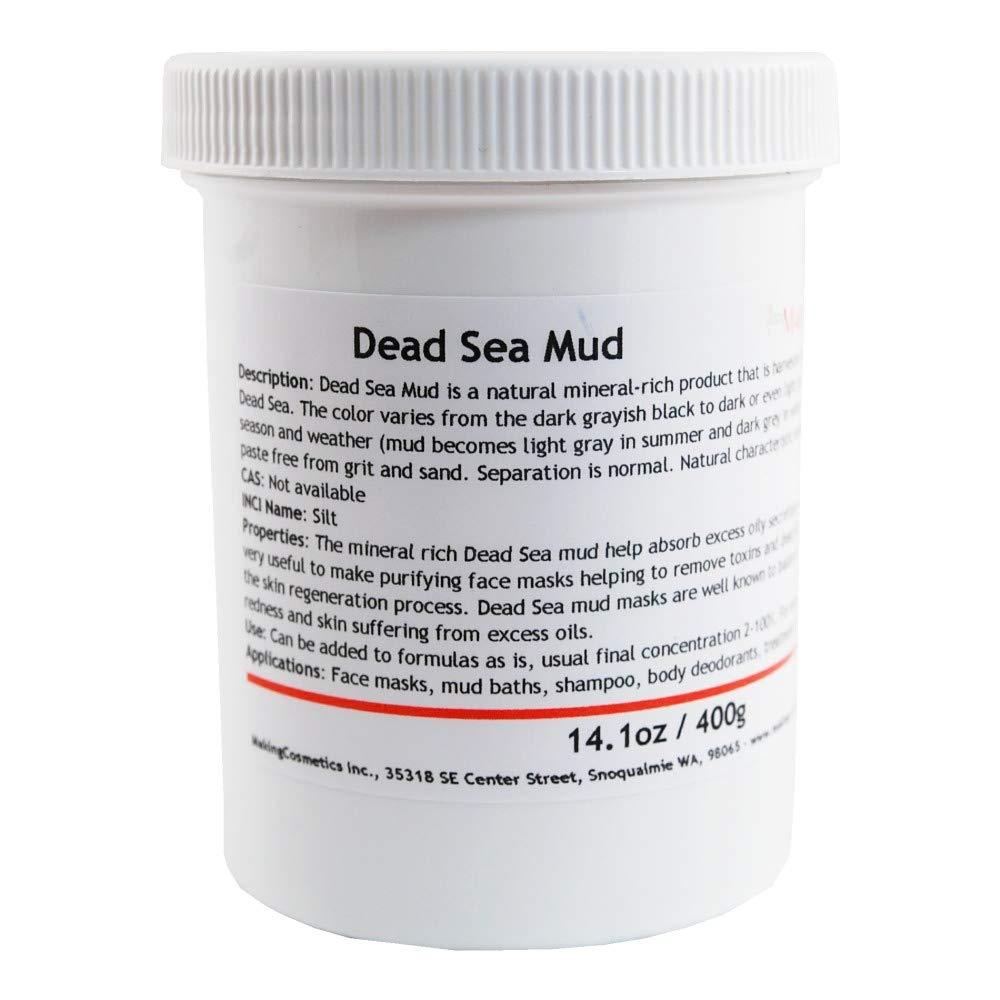 MakingCosmetics - Dead Sea Mud - 14.1oz / 400g - Cosmetic Ingredient