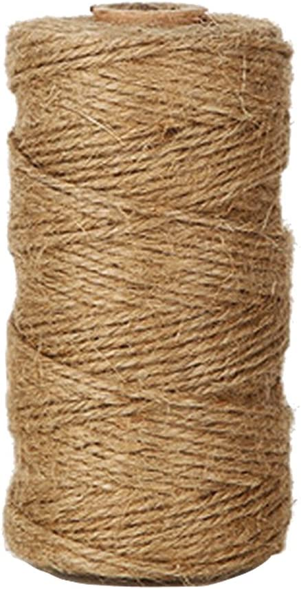 KINGLAKE 328 Feet Natural Jute Twine