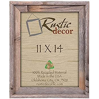 what size frame for 11x14 picture with mat photo frames bulk 8x10 this item wide signature reclaimed rustic wall
