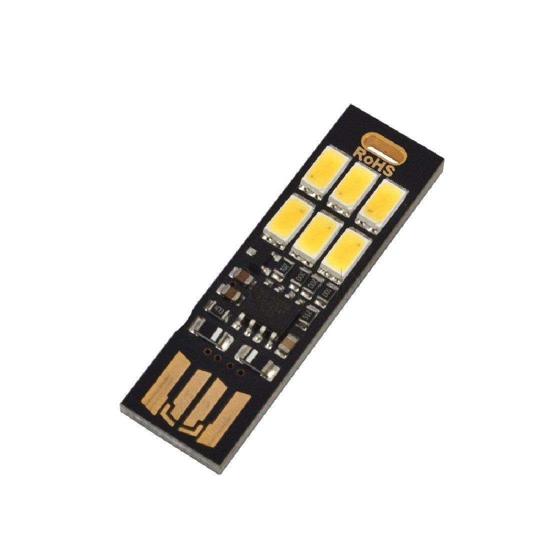 Fashion Mini 5v Usb Power Led Light Touch Dimmer Adjust Night 3way Sensor Switch Control 110 220v Lamp Desk Bulb Card Warm White Kitchen Home