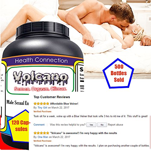 Volcano-Celebritys-1-Best-Powerful-Sex-PillCumSex-Performance-PillsSex-Drive--Hard-Sex-Support-Boost-Testosterone-Make-your-Woman-Happy-Tonight120PILLs-Proudly-Made-in-USA