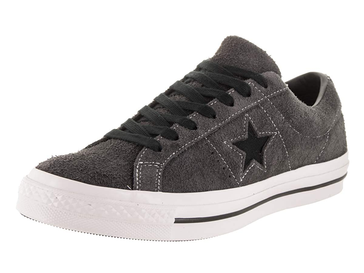 Almost noir noir blanc Converse Lifestyle One Star Ox Leather, Chaussures de Fitness Mixte Adulte