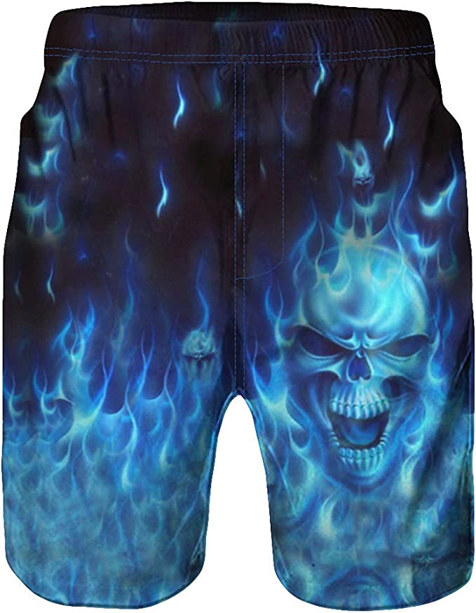 Hot Mens Summer Boardshorts Surf Beach Shorts Swim Wear 3D Sports Trunks Pants