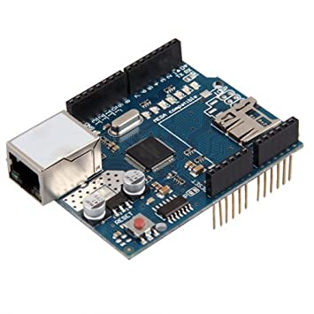 Daorier W5100 Ethernet módulo de red módulo con tarjeta SD ...