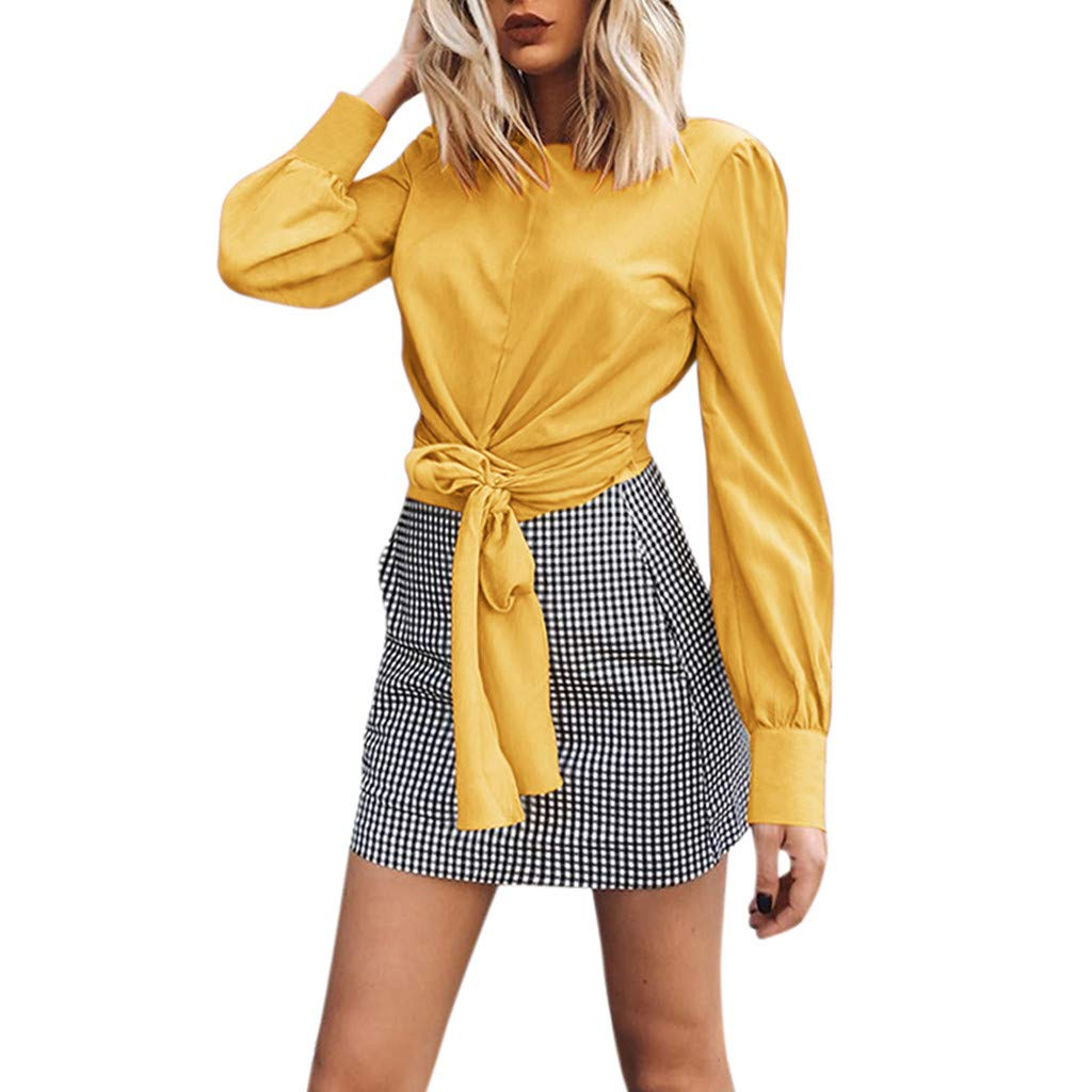 Camisa Mujer Casual Leopardo Patchwork Bloque de Color Cuello en V Asimétrico Manga Larga T-Shirt Camiseta Blusa Basic Tops Camisetas Pullover Túnica: ...