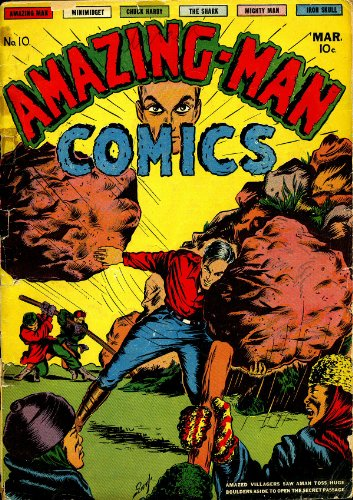 Amazing-Man Comics #10 (Illustrated) (Golden Age Preservation Project)