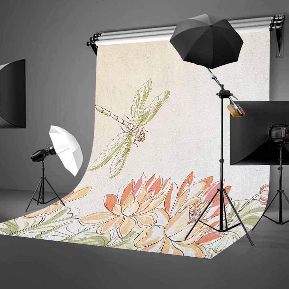 7x10 FT Pastel Vinyl Photography Backdrop,Hand Drawn Motif Chevron Zigzag Lines Tribal Design Retro Grunge Aztec Art Background for Party Home Decor Outdoorsy Theme Shoot Props