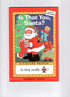 Is That You Santa All Aboard Reading Margaret Hartelius
