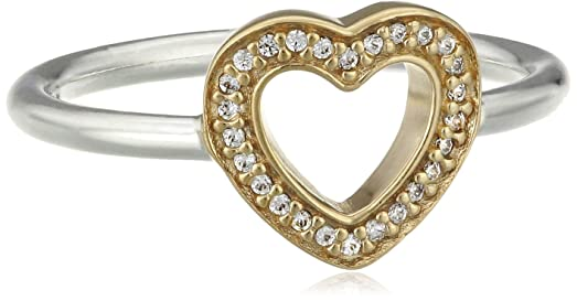 Amazon Pandora Symbol Of Love Heart Ring Clear Cz 190925cz 58
