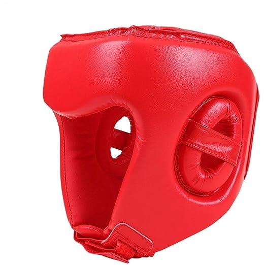 Casco de Boxeo para ni/ños para Taekwondo Judo Martial Arts Sparring Casco Gear Head Protector