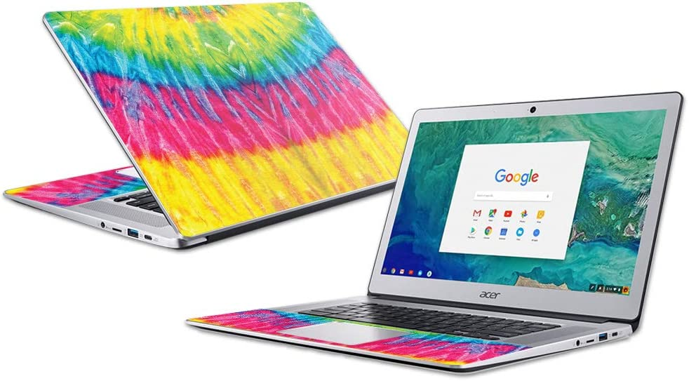 """MightySkins Skin Compatible with Acer Chromebook 15"""" (2018) - Tie Dye 2 