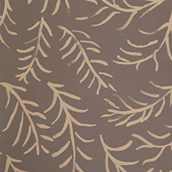 Sanderson Caracteristique Plat Matisse Motif Feuille Papier Peint