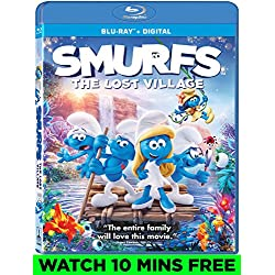 Smurfs: The Lost Village [Blu-ray]