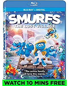 Cover Image for 'Smurfs: The Lost Village [Blu-ray + Digital]'