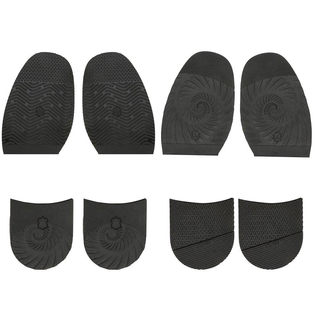 MagiDeal Ensemble 2x Paires Ascenseurs de talon Soulèvements + 4x Semelles Chaussures Accessoire Unisexe