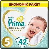Prima Bebek Bezi Premium Care 5 Beden Junior Jumbo Pake,42 Adet