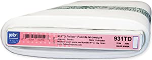 Pellon Tridimensional Fusible Interfacing, 20-Inch by 25-Yard, White