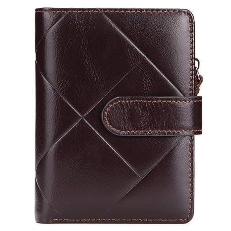 1971d41c2df0 Amazon.com: SaoLangtame Wallet Male Genuine Leather Zipper Short ...