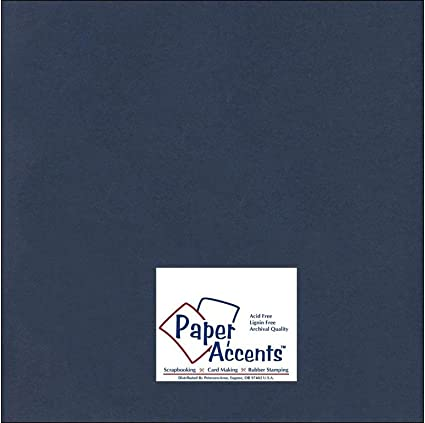 PAPER ACCENTS ADP1212-25.129  ADP1212-25 129 CDSTK SMOOTH 12X12 80LB MATTE WH...
