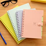 Korean Style Cute Notebook Good Smell Pp Cover 110 Sheets 7 Colors 21.4*14.3cm