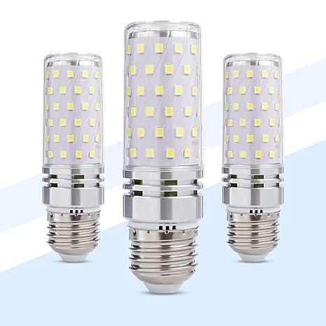 Yrlighting Corn E26 Led Bulbs 16w Led Candelabra Bulb 100 Watt Equivalent 1500lm Decorative Candle Base E26 Non Dimmable Led Chandelier Bulbs