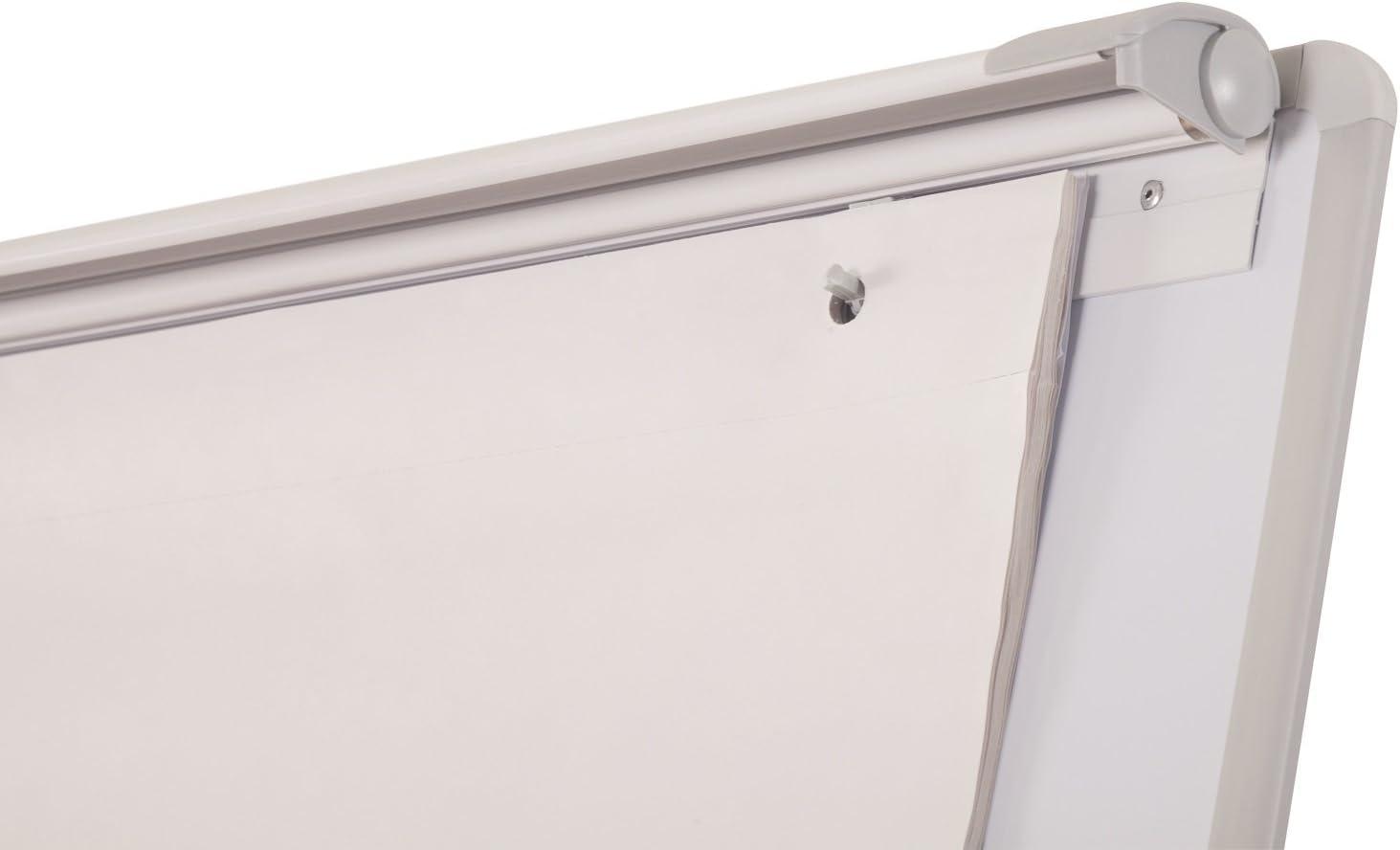 Bi-Office Pizarra Magnética con Caballete de Trípode Basic, 70 x ...