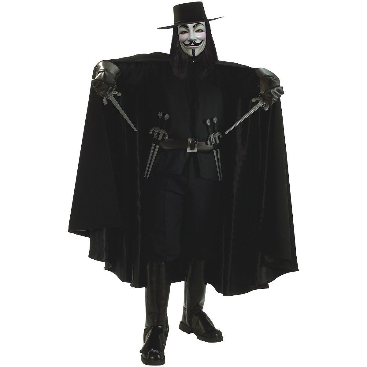 Super Deluxe V for Vendetta Adult Costume - Standard