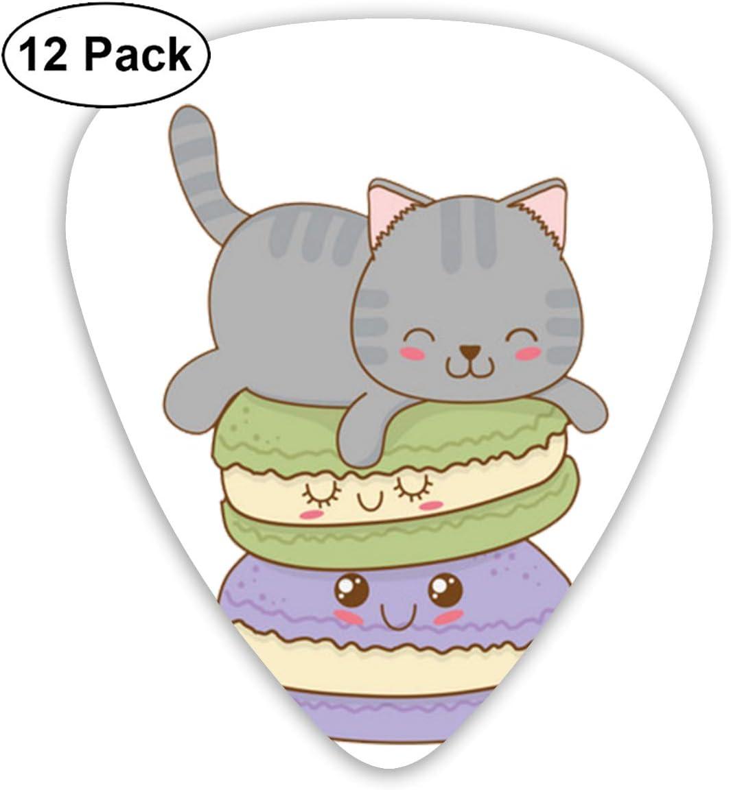 Cavdwa Cute Little Cats con Emoticons0 12 púas de Guitarra ...