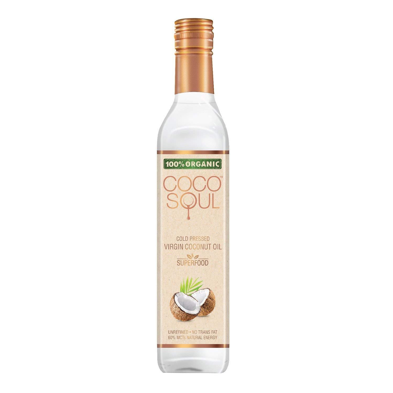 Coco Soul Cold Pressed Organic Virgin Coconut Oil, 500 ml