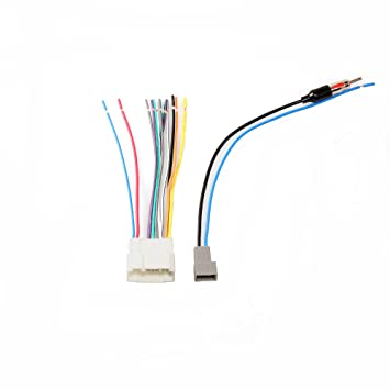 Amazon.com: RED WOLF Wiring Harness Plug+Antenna Adapter to ... on