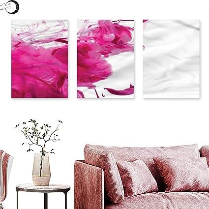 J Chief Dipinto A Olio Da Parete Colore Magenta Cielo W 12 X L 24 X3pcs Color15 Amazon It Casa E Cucina