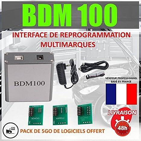 PROGRAMMATION BDM 100 REPROGRAMMATION OBD2 MULTIMARQUES