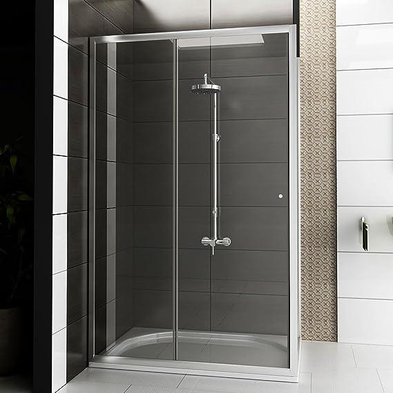 Mampara de cristal esquina diseño cabina de ducha 120 x 80 x 190 cm Apertura Derecha o Izquierda/TOP Oferta Especial.: Amazon.es: Hogar