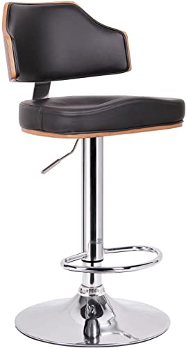 Sunset Trading Sunset Dart Dining Barstool, Espresso with slate and beige