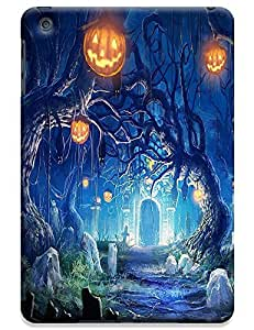 Apple Accessories Helloween Design Special Terrible Picture Pumpkin Cell Phone Cases For iPadmini No.8