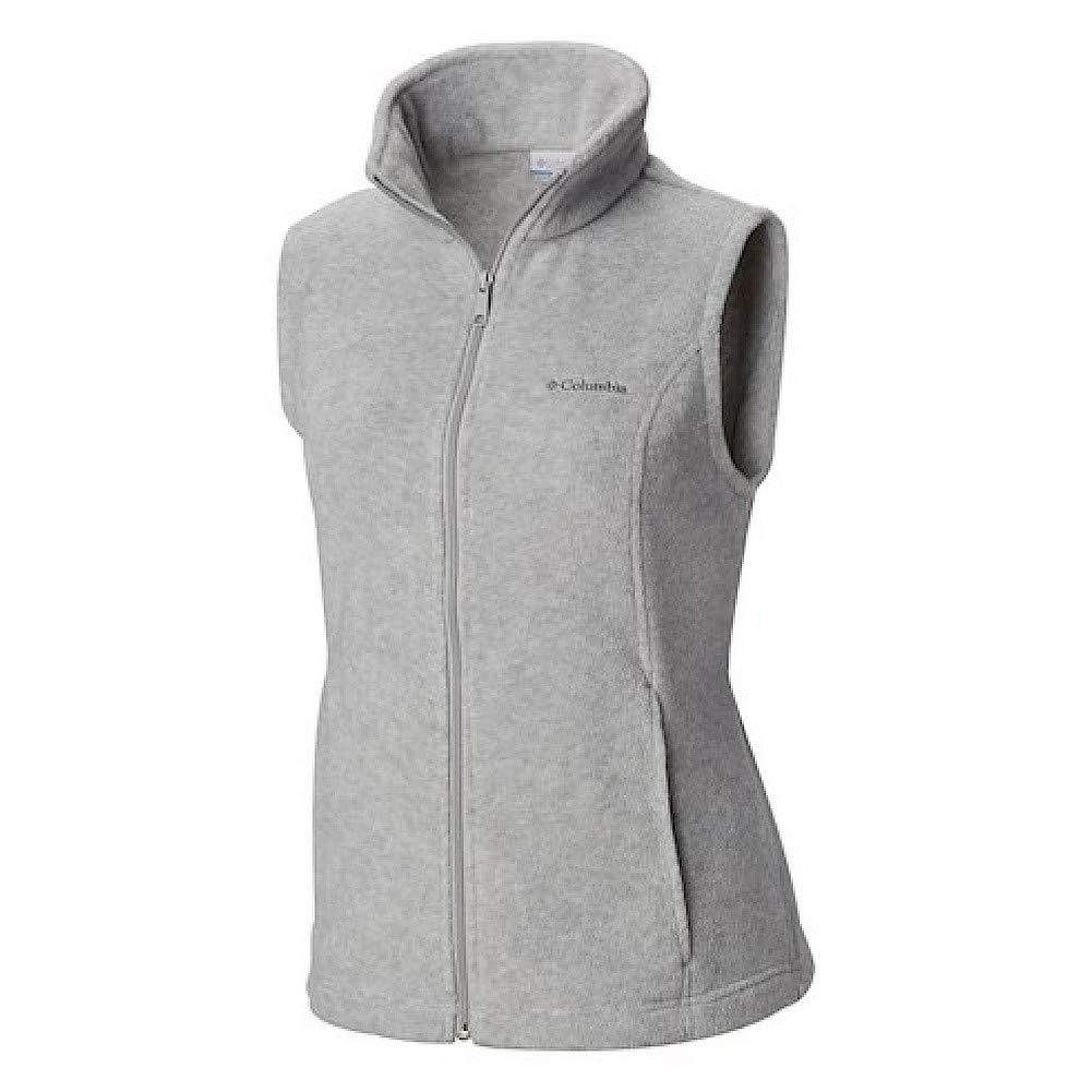 Columbia Women's Benton Springs Vest, Cirrus Grey Heather, Small