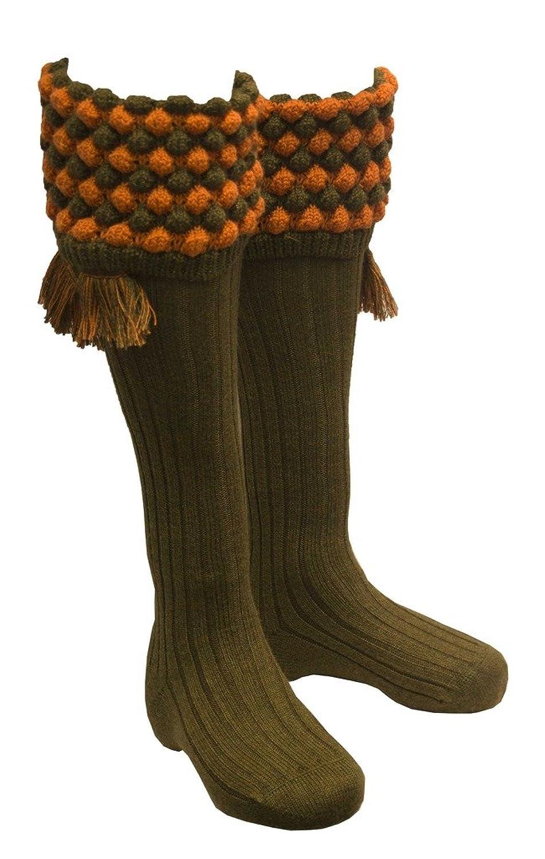 Steampunk Clothing- Men's Walker and Hawkes Mens Shooting Country Angus Socks & Matching Garter Ties $120.62 AT vintagedancer.com
