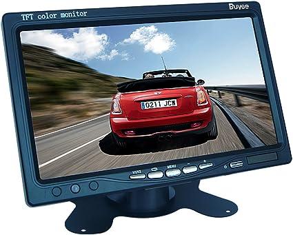 "7/"" Digital TFT LCD HD Car Rear View Backup Monitor Display w// Remote Control"