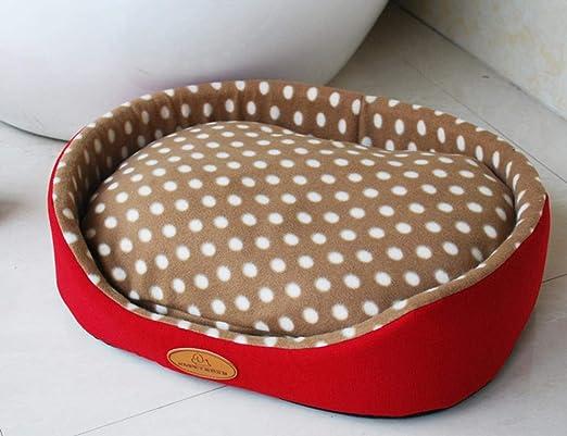 Cama para Perros Kennel Mat Soft Fleece Pet Puppy Cat Warm Bed Dog ...
