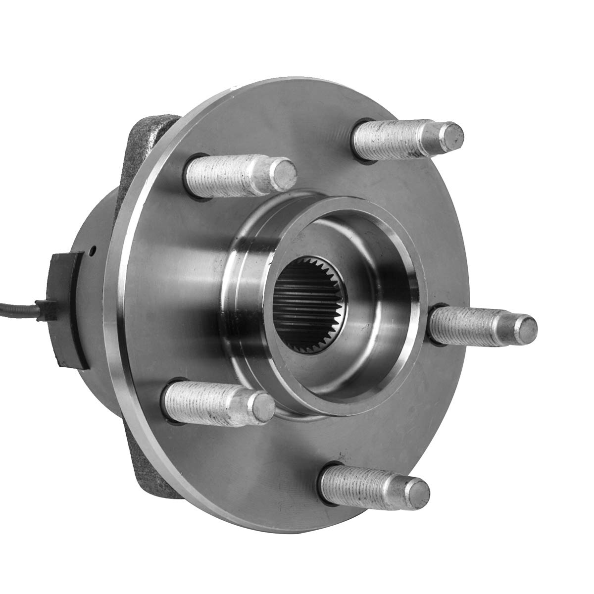 Front Wheel Hub and Bearing Assembly Left or Right Compatible Chevrolet Cobalt HHR Pontiac G5 Saturn Ion Pontiac Pursuit AUQDD 513206 x2 5 Lug W//ABS