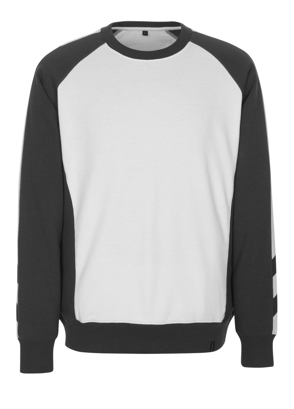 Mascot 50503-830-0618-L Sweatshirt Witten, weiß dunkelanthrazit, L